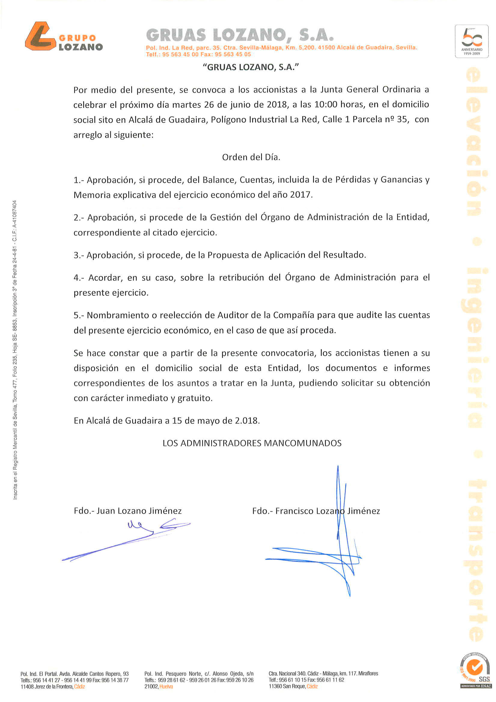 convocatoria-junta-general-ordinaria