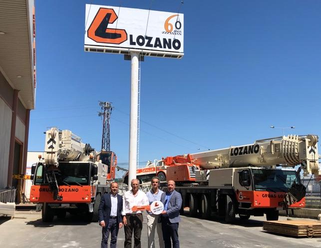 Grupo Lozano amplía su parque de maquinaria con 2 nuevas grúas Liebherr